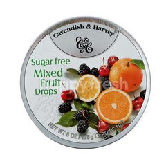 Cavendish & Harvey Sugar Free Mixed Fruit Candy