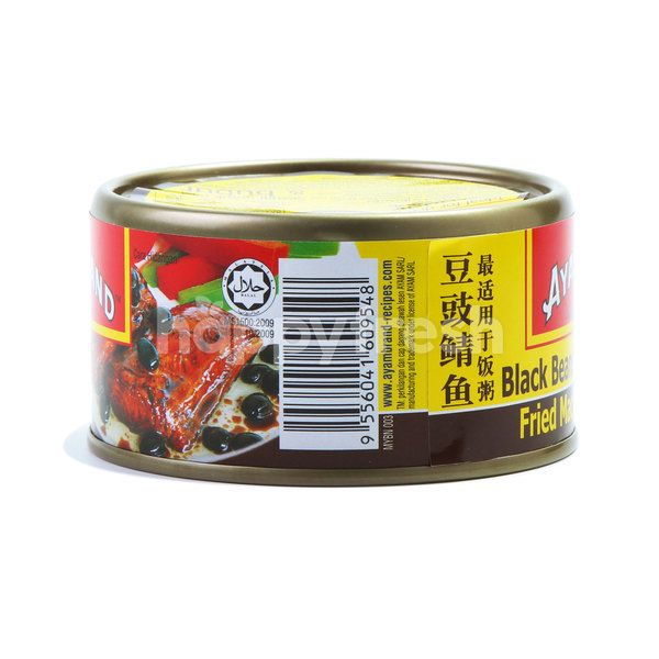 Ayam Brand Black Bean Fried Mackerel