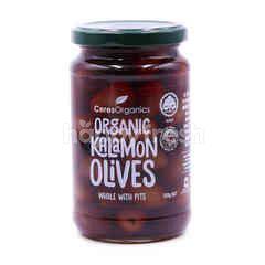 Ceres Organics Organic Kalamon Olives Whole With Pits