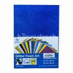 Master Glitter Carton Art Blue