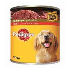 Pedigree Can Dog Wet Food Adult Beef 700G Dog Food