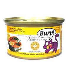 Burp! Tuna Whole Meat With Salmon In Jelly 85g