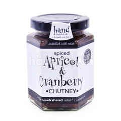 The Hawkshead Spiced Apricot & Cranberry Chutney
