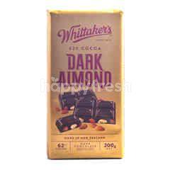 Whittaker's 62% Cocoa Dark Almond Chocolate