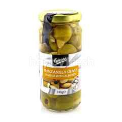 EPICURE Manzanilla Olives Stuffed With Almonds