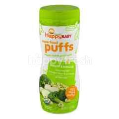 Happybaby Puffs - Apple & Broccoli(60g)