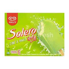 Wall's Solero Split Lime & Vanilla Ice Cream