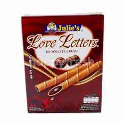 Julie's Chocolate Cream Wafer Rolls