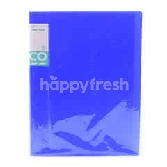 Tesco Blue A4 Clear Book File