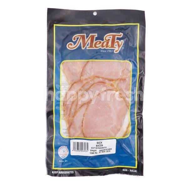 Meaty Pork Back Bacon