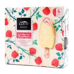 Kapiti White Chocolate & Raspberry Ice Cream