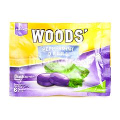 Woods' Strong Peppermint Drops Blackcurrant
