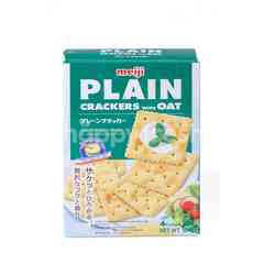 Meiji Plain Crackers With Oat (4 Packs)