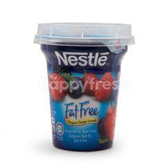 Nestlé Mixed Berries Fat Free Yogurt