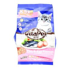 VITA PET Cat Food Fish & Egg Flavour