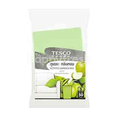 Tesco Apple Scent Garbage Bags (S)(50 Pieces)