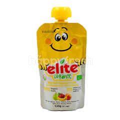 Elite Organic Blended Organic Fruits For Baby (Apple, Pear, Banana & Peach)