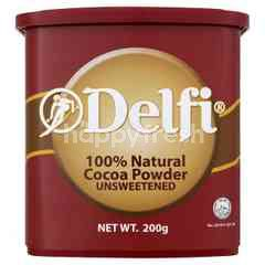 Delfi 100% Natural Cocoa Powder Unsweetened