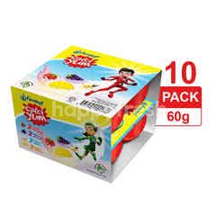 FERNLEAF Calci Yum Assorted Flavour Cultured Milk Food 10 Pack