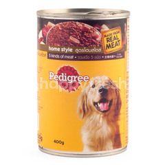 Pedigree Makanan Anjing dengan 5 Jenis Daging Sapi