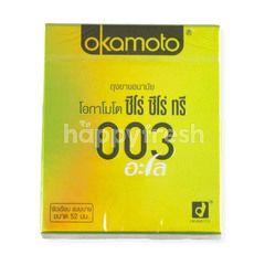 Okamoto 003 Alo Condom Size 52 mm