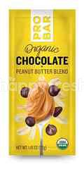 Pro Bar Organic Chocolate + Peanut Butter Blend