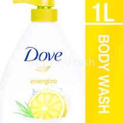 Dove Go Fresh Shower Gel Energize 1L