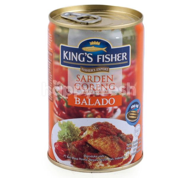 King's Fisher Fried Sardines in Balado