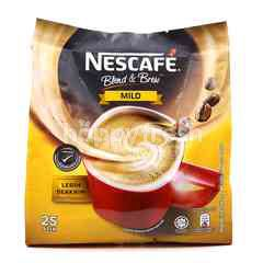 Nescafé Blend & Brew Mild Premix Coffee (25 Sticks)