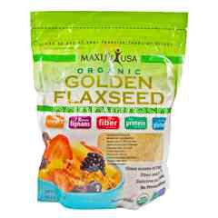 Maxifit Usa Organic Golden Flaxseed Cereal