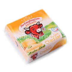 The Laughing Cow Cheddar Cheese Slices (10 Slices)