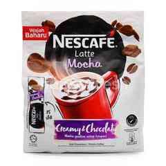 Nestle Nescafe Latte Mocha Premix Coffee (15 Sticks)