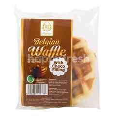 99 Premium Kue Waffle Belgia Isi Coklat
