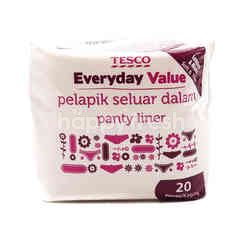Tesco Everyday Value Panty Liner (Soft & Thin)