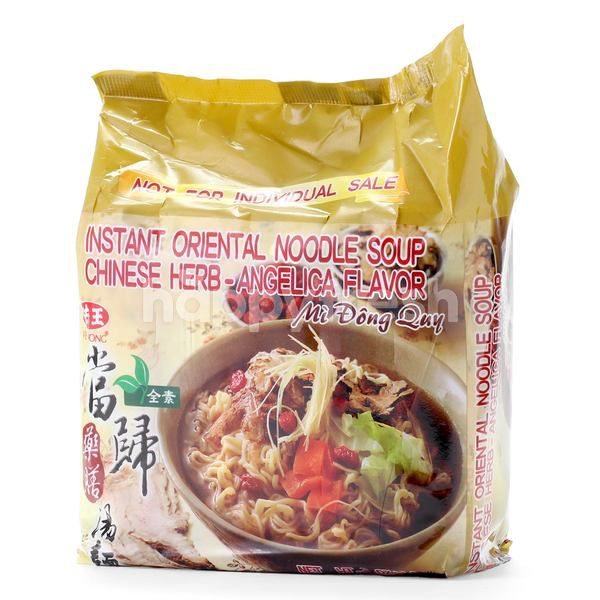 Ve Wong Instant Oriental Noodle Soup Chinese Herb - Angelica Flavor