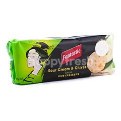 Fantastic Rice Cracker Sour Cream & Chives