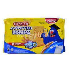 Mamee Monster Biskidz Milk Biscuit