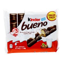 Kinder Bueno Milk Chocolate Flavored Wafer (3 Sachets)