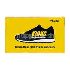 Kicks Tisu Pembersih Sepatu