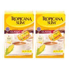 Tropicana Slim Sweetener Classic Twinpack