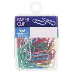 Unicorn 28mm Colour Paper Clip (100 Pieces)