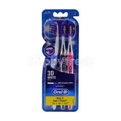 Oral-B 3D White Soft Toothbrush (Buy 2 Free 1 )