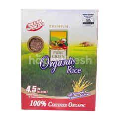 Pure Green Organic Red Rice