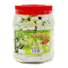 Nora Pandan Flavoured Mini Bangkit Cookies