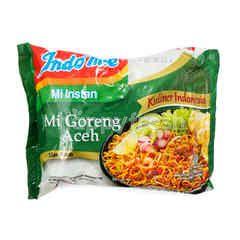 Indomie Aceh Fried Noodle Flavor Instant Noodle