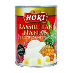 Hoki Pineapple and Rambutan in Syrup