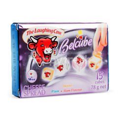 The Laughing Cow Belcube Cheese Spread Violet