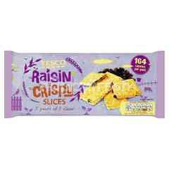 Tesco Raisin Crispy Slices