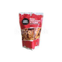 Izara Cookies Original Chocolates Chips With Almond Biscuits