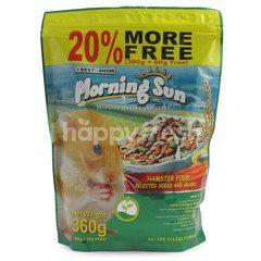 Best In Show Morning Sun Makanan Hamster dengan Biji dan Padi-Padian Terpilih